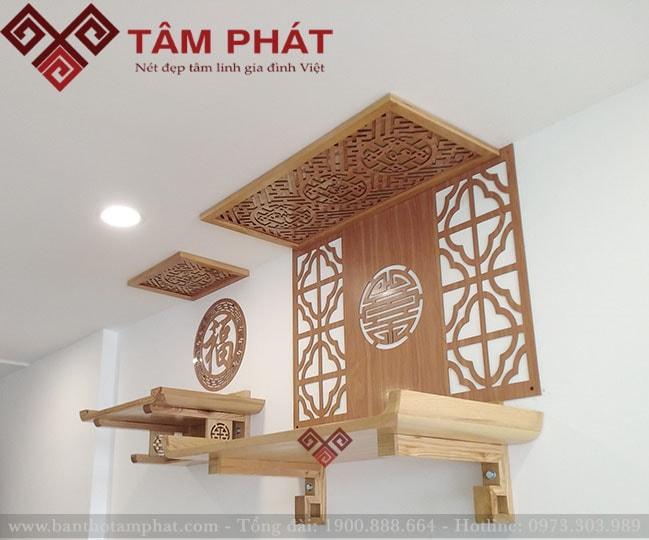 Bàn thờ gỗ Tâm Phát đươc áp dụng chế độ bảo hành sau khi mua hàng