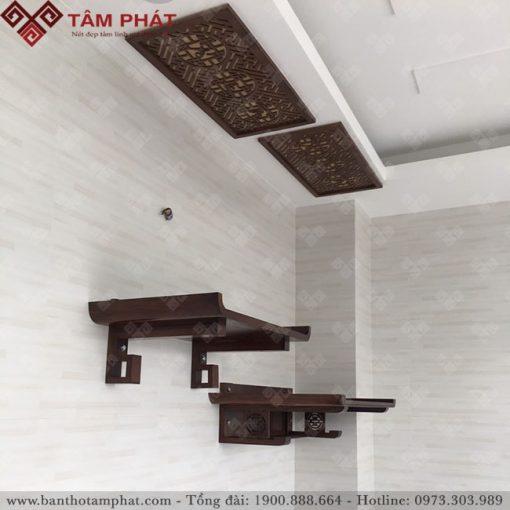 Bàn thờ treo tường 2 cấp mẫu TT2201