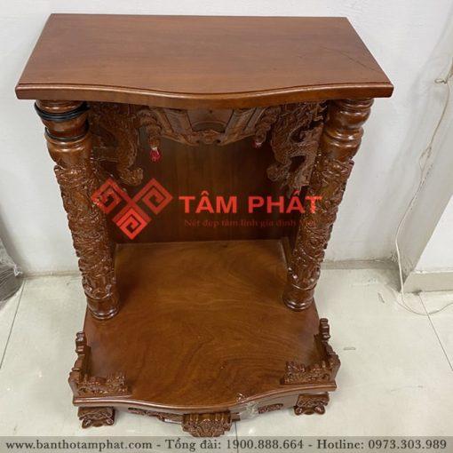 Mẫu bàn thờ thần tài gỗ Gõ BTT-3308