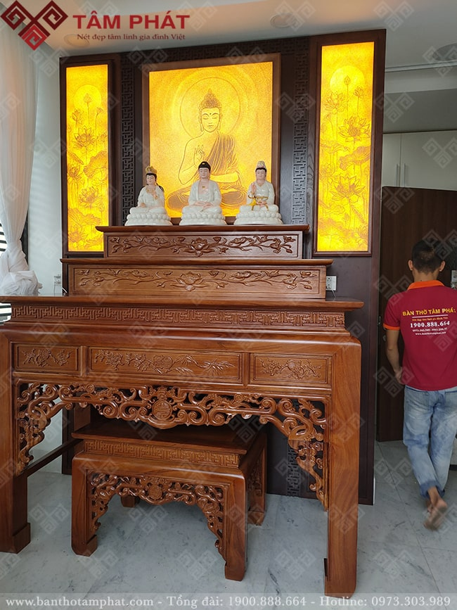 Mẫu bàn thờ tam cấp BT-1089 Tâm Phát