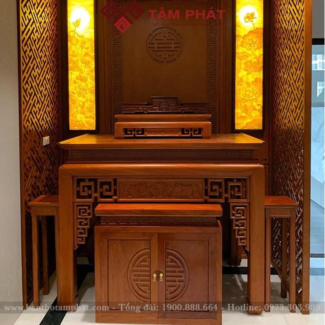 Mẫu bàn thờ gỗ BT-1061 của Tâm Phát