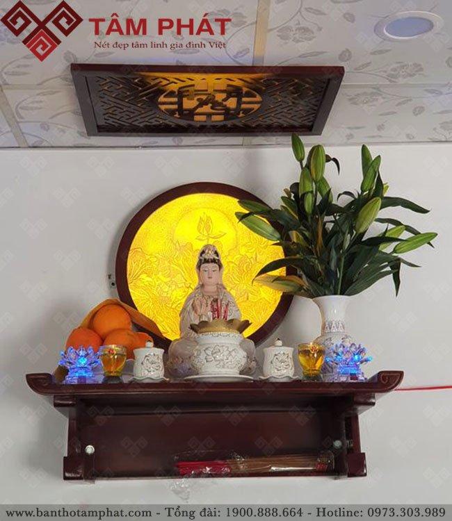 Mẫu TT2023 được sử dụng nhiều cho bàn thờ Phật