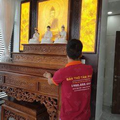 Tâm Phát chuyên thi công phòng thờ đẹp
