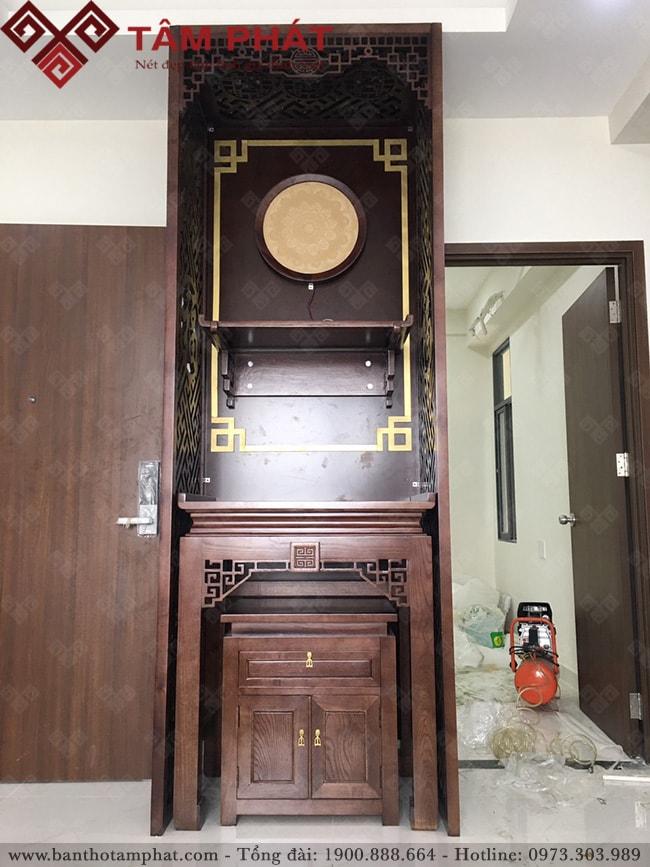 Bàn thờ Phật và gia tiên mẫu BT-1085 Tâm Phát