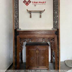 Bàn thờ BT-1069 được thiết kế cho nhà chung cư