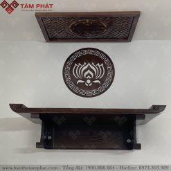 Bàn thờ gỗ Sồi kích thước 48x81