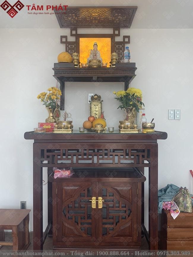 Tâm Phát đã thiết kế cho Khách hàng rất nhiều không gian thờ tự đẹp