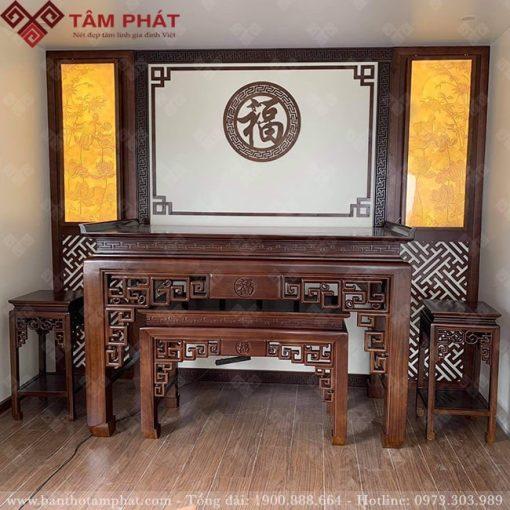 Mẫu phòng thờ đẹp BT-1122
