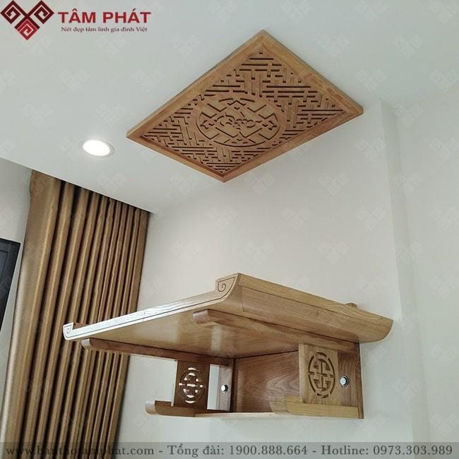 Bàn thờ treo được lắp đặt Miễn Phí tại Hà Nội, Đà Nẵng và Tp.HCM