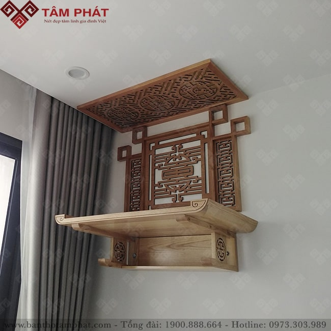 TT2023 là mẫu bàn thờ treo được nhiều khách hàng lựa chọn