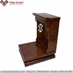 Bàn thờ Thần Tài làm bằng gỗ Sồi tự nhiên
