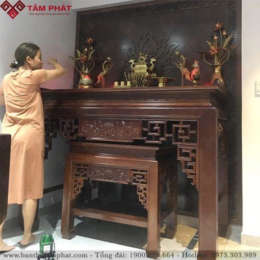 Là mẫu bàn thờ được nhiều khách hàng lựa chọn nhất