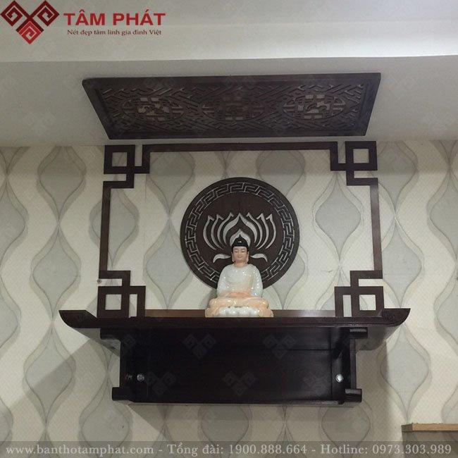 Bàn thờ Tâm Phát được xử lý kỹ cho độ bền tuyệt đối
