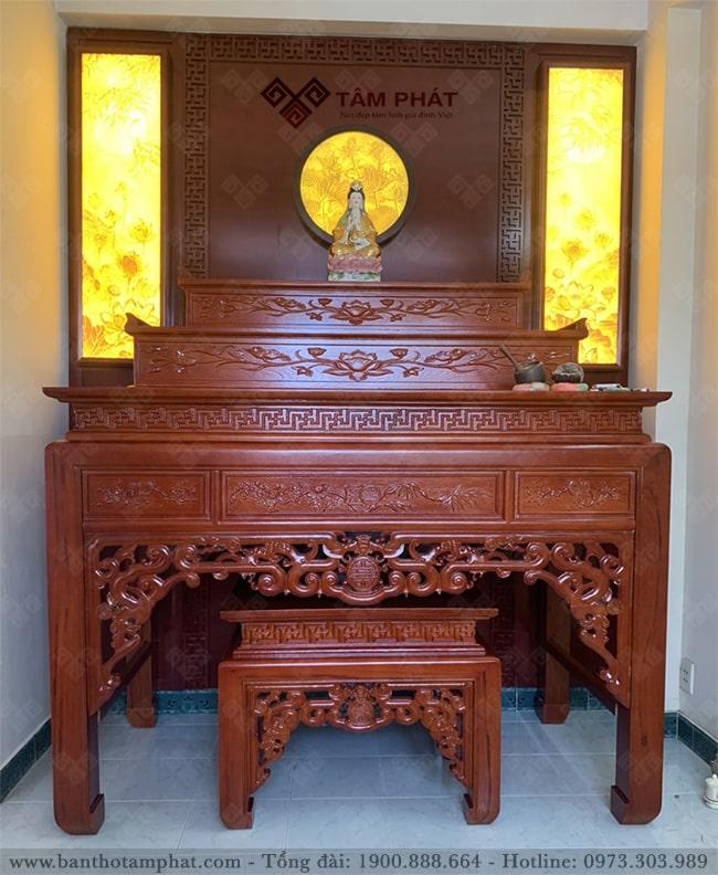 Bàn thờ đứng hiện đại Tâm Phát mẫu BT-1012