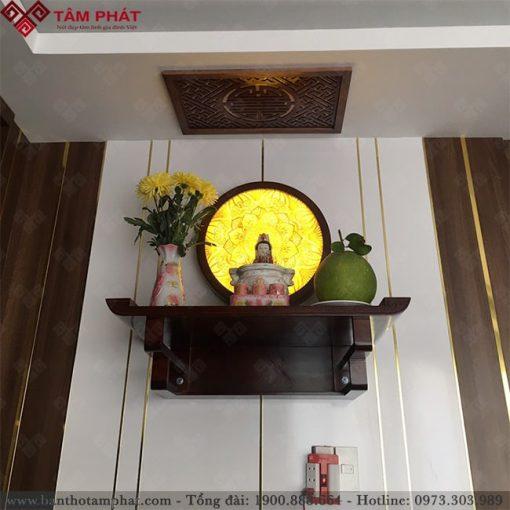 Trang thờ Phật treo tường kích thước nhỏ