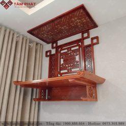 Bàn thờ treo gỗ Hương đá cao cấp mẫu TT2036