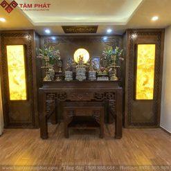 Mẫu phòng thờ gia tiên đẹp BT-1128