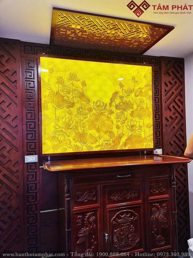 Mẫu tủ thờ đẹp nhất tại cửa hàng Tâm Phát